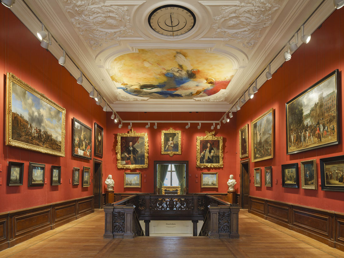 Trapzaal Stadspaleis Mauritshuis